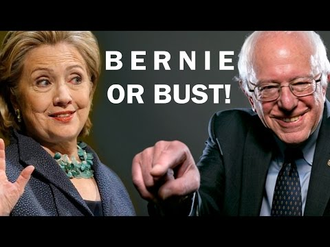 Hey Democrats, It's Bernie Or Bust!