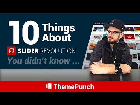 Another 10 things about Slider Revolution you didn't know...