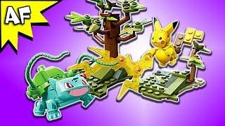 Mega Construx Pokemon PIKACHU vs BULBASAUR Speed Build