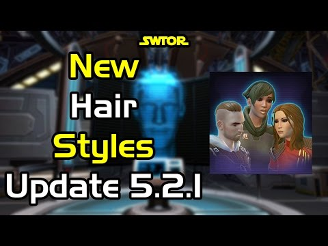 SWTOR - New Human Hairstyles 2 - Quick Look