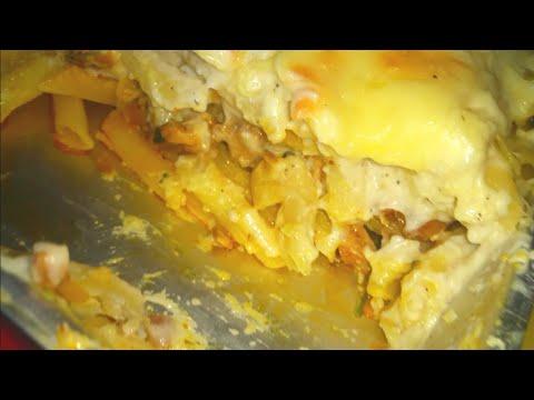 Tasty chicken pasta lasagna  (full recipe)