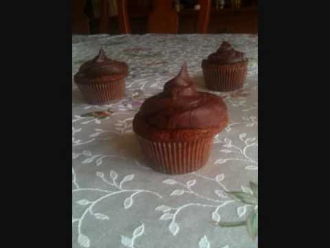 Pudding filled Cupcakes!