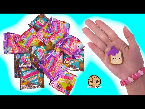 Smallest Squishies ! Smooshy Mushy Surprise Blind Bags - Toy Video