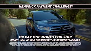 By Hendrick Toyota North Charleston · Ask For The Payment Challenge | Hendrick  Toyota North Charleston