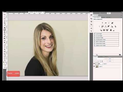 Photoshop Tutorial - How To Save a Portrait with Harsh Shadows [in-depth] intermediate