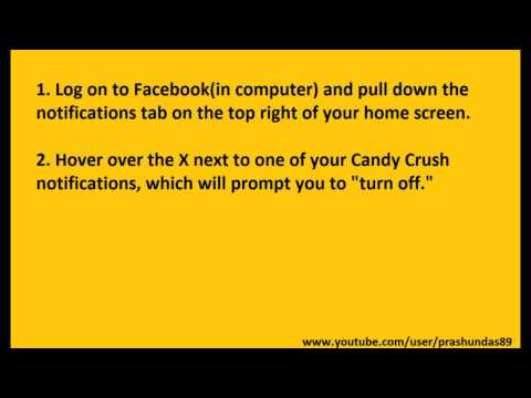 block candy crush requests on facebook