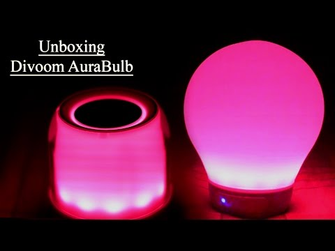 Divoom AuraBulb [Awesome Bluetooth Smart Music Lamp Speaker]