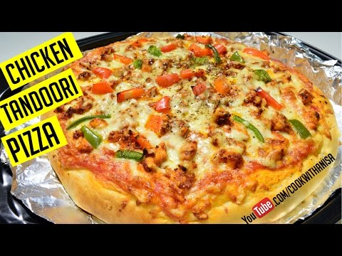How to make Tandoori Chicken Pizza Recipe | Indian Recipes | 1 minute Series Cook with Anisa