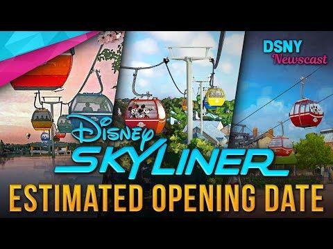 DISNEY SKYLINER Estimated OPENING DATE at Walt Disney World - Disney News - 6/12/18