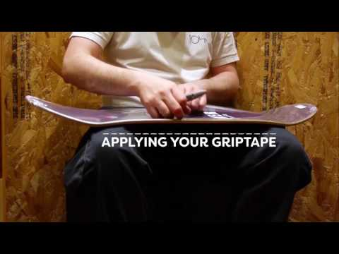 How to Pick the Right Skateboard Deck for You & How to Apply Grip Tape to a Skateboard