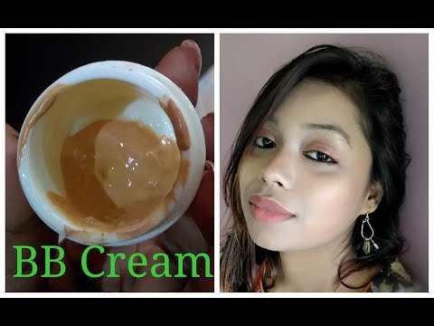 Make your own BB Cream (Application + Demo) / DIY BB Cream in easy Steps in Hindi