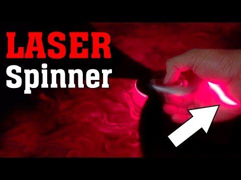 LASER SPINNER cut my hand!