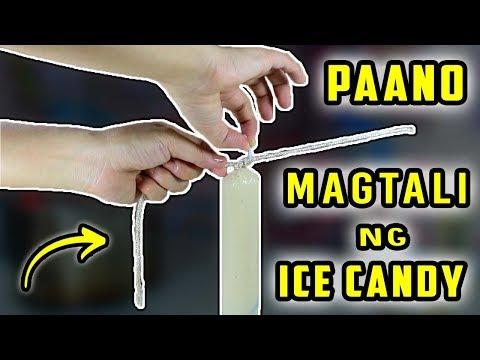 Paano MAGTALI ng Ice Candy gamit ang Tali | Negosyo Tip #1
