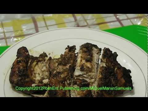 The Original Jamaican Oven JERK CHICKEN - Recipe