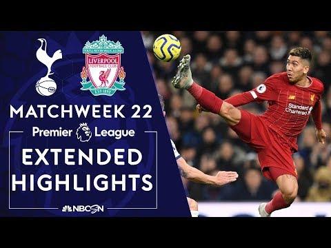 Tottenham Hotspur V Liverpool PREMIER LEAGUE HIGHLIGHTS 1112020 NBC Sports