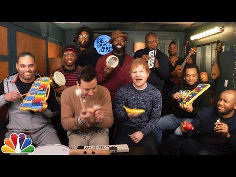 Jimmy Fallon, Ed Sheeran & The