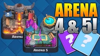 """Clash Royale """"win Every Time!"""" Arena 4 & 5 Deck Strategy! Best Level 4-5 Cards! (pro/beginner Tips)"""