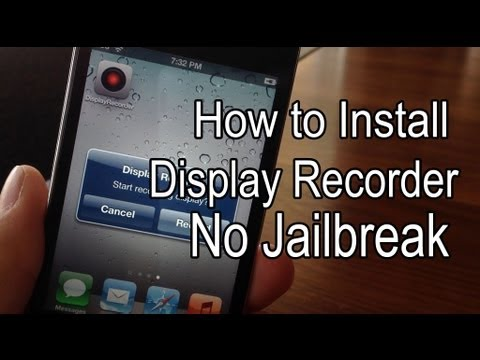 How to Install Display Recorder [NO JAILBREAK] (February 2015)