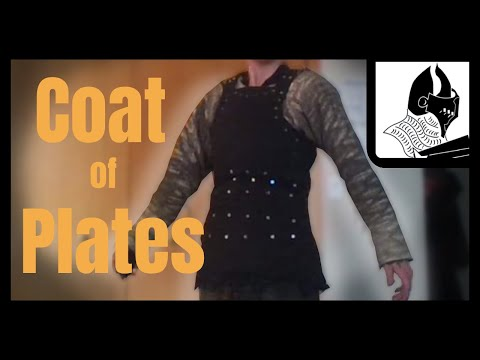 Making a Medieval Suit of Armor: Coat of Plates