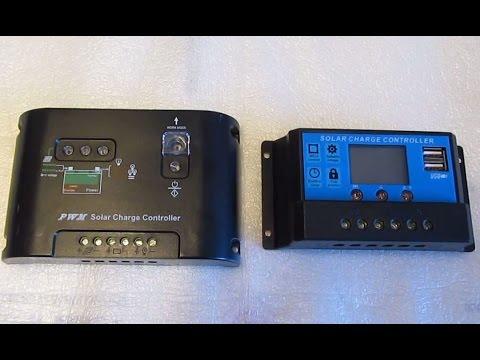 Review: 12V/24V 20A/30A PWM Solar Charge controllers /USB -cheap Chinese stuffs
