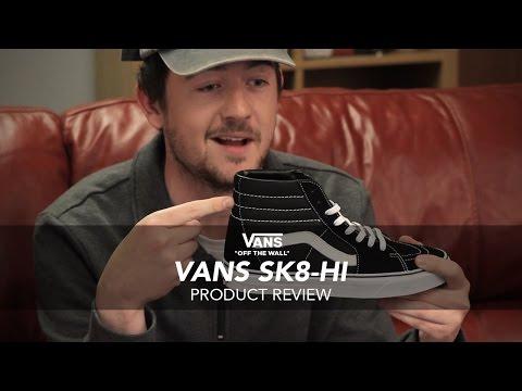 Vans SK8-Hi Skate Shoe Review - Rollersnakes.co.uk