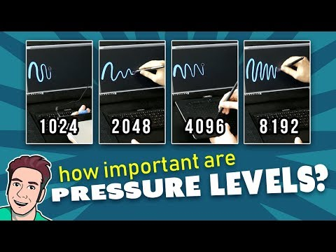 How Important Are PRESSURE LEVELS? - Comparing 1K, 2K, 4K & 8K Pens