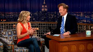 """Kristen Bell Went To A """"Hardcore"""" Catholic School - """"Late Night With Conan O'Brien"""""""