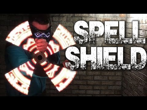 Dr. Strange Spin Shield Magic Simulator - Persistance Of Vision ILLUSION!