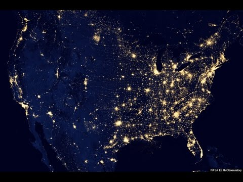 How to Turn On Earth City Lights in Google Earth