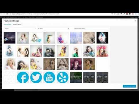 Creating a blog (Tesseract Designer Theme)