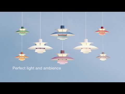PH 5 Pendant Light Contemporary Hues - New for 2018