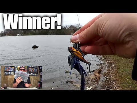 Who Catches More Fishing Lures Than Me + Texas Rig Giveaway Winner