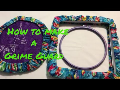 Sew With Me - How to make a grime guard