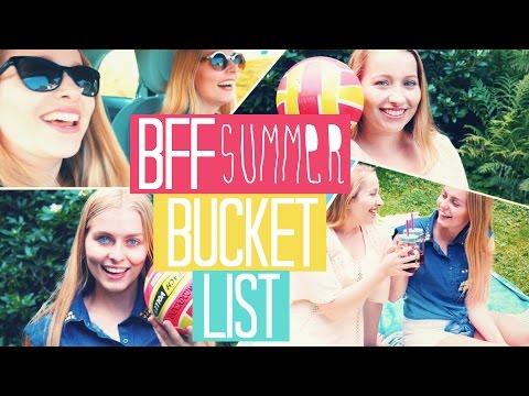 BFF Summer Bucket List!