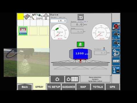 AIM Command FLEX: Nozzle Control Modes on AFS Pro 700 display