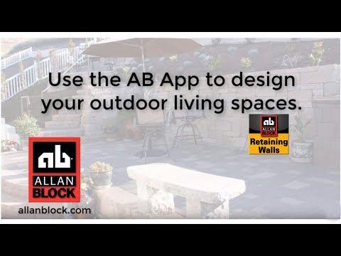 Allan Block Estimating App for Retaining Walls