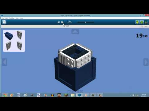 How To Build A Lego TARDIS