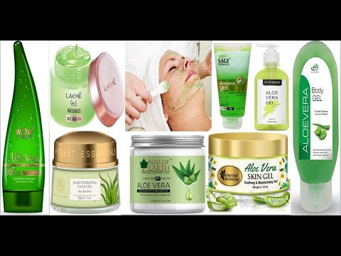 Top 10 Best Aloe Vera Gel In India With Price | Best aloe Vera gel for face | For acne , pimples etc