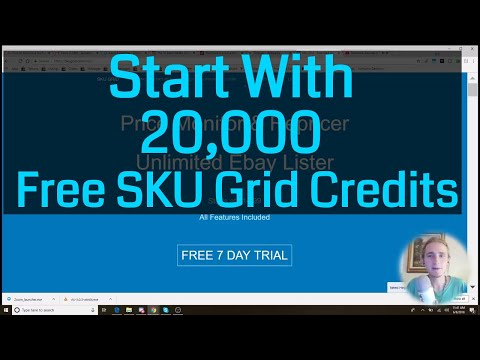 Here are 20,000 Free Credits For SKUgrid Drop Shipping Repricer and Lister Software