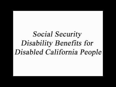 Social Security Disability California