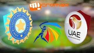 """GAMING SERIES"" ASIA CUP 2016 GAME 1 - INDIA v UNITED ARAB EMIRATES"