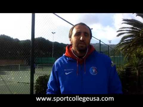 Diego Nargiso e  Sport College Usa