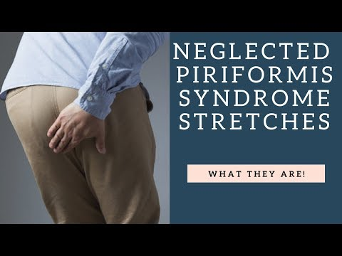 How Tight Hip Flexors Can Cause Piriformis Syndrome & Sciatica Pain | Muscle Stretches To Help!