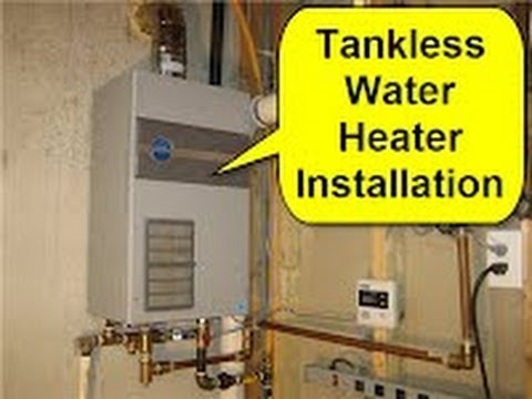 No Flex Gas Pipe for Tankless Water Heaters