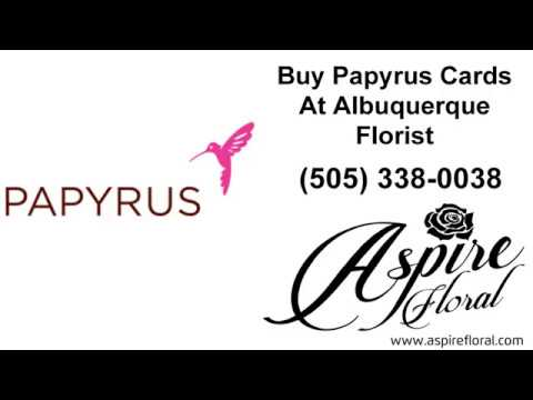 Papyrus Cards At Albuquerque Florist