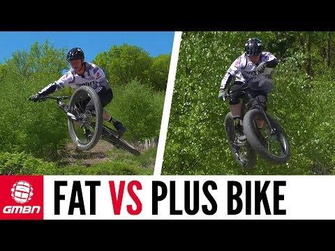 Fat Bike Vs Plus Bike | How Do They Compare?