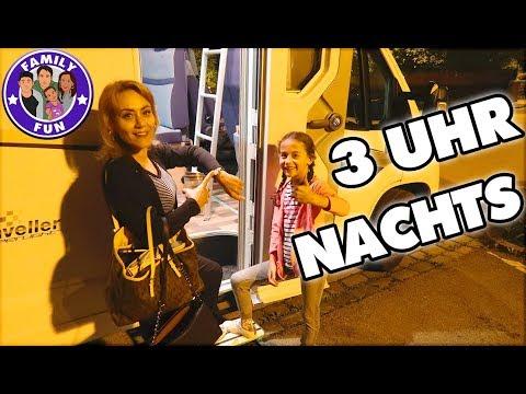 3 UHR NACHTS REISEN mit WOHNMOBIL - Family Fun ON TOUR