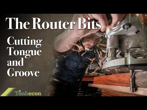 The Router Bits  - Cutting Tongue and Groove