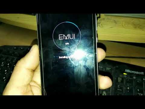 Flashing Huawei P9 write firmware