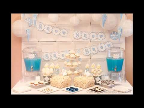 Ideas for Winter wonderland party decorations